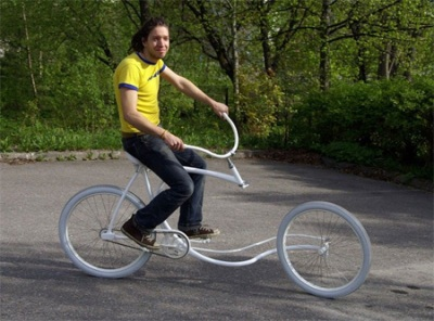 Forkless Bicycle Design