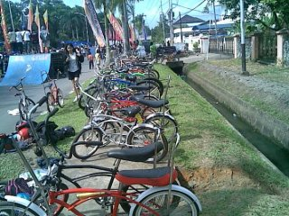 Lowrider Bikes Rock in Kalimantan Barat Indonesia
