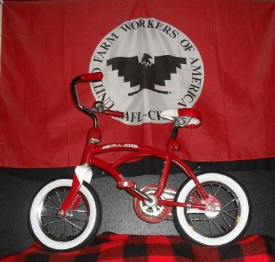 Plastic  Lowrider bikes Using Radio Flyer Frames